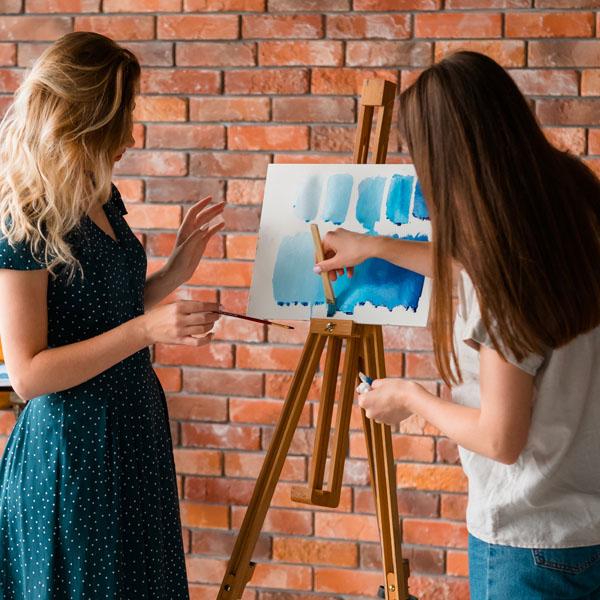 Techniques de peinture et techniques de dessin
